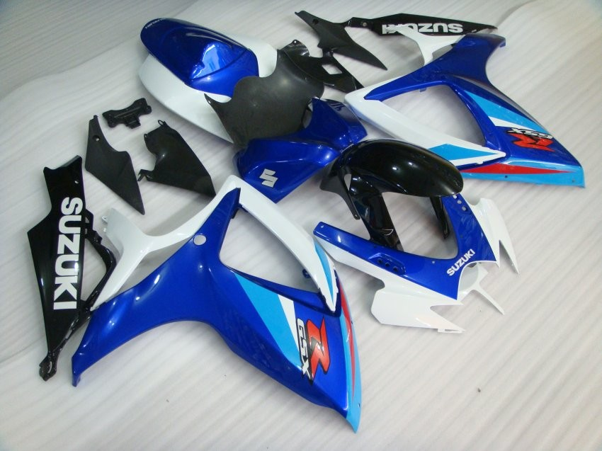 Injection mold fairing kit for SUZUKI GSXR 600 750 K6 K7 2006 2007 oem fairings GSXR600 GSXR750 06 07 blue white black