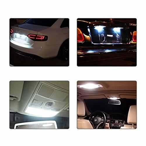 10 pcs/lot dôme lumière 31mm 36mm 39mm 41mm voiture COB 1.5W DC12V intérieur voiture ampoule LED lampe intérieur dôme lumières plaque lampes ampoule