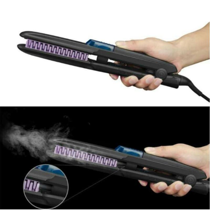 Steam Hair Straightener Brush Ceramic Professional Ionic Hair Straightening Comb Vapor Electric Hair Brush Styling tools steam brush расческа выпрямитель brush с генератором пара белая