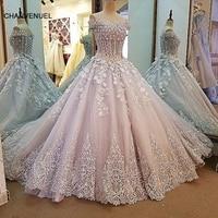 LS0009 abiye gri dantel boncuk lace up geri sevgiliye balo uzun parti örgün elbise robe de soiree gerçek fotoğraflar