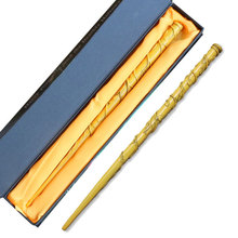 Colsplay Hermione Granger Wand Magic Wands Metal/Iron Core Albus Dumbledore Old Magical Wand Kid Adult Toys Gift Box Packing