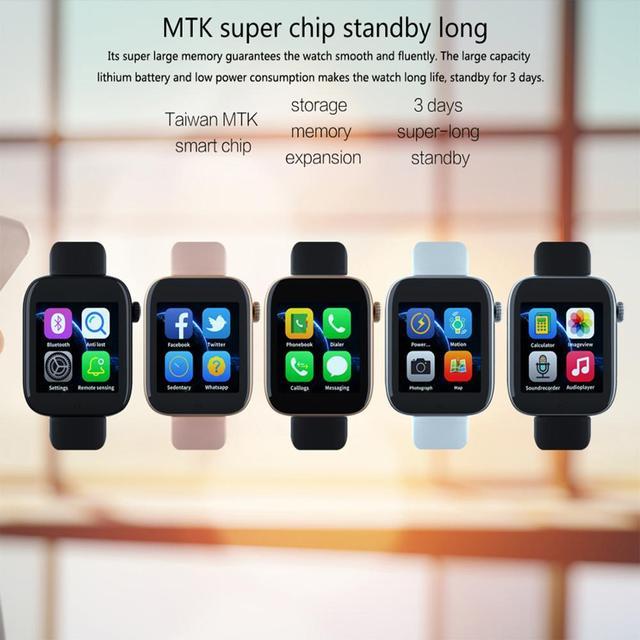Keoker Smart Watch SIM 2G Android Phone Support TP Card Camera Video Player Bluetooth Call Message For Apple Watch Men Women
