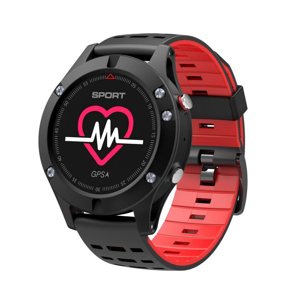 GENBOLI Men F5 GPS Smart Watch Altimeter Thermometer Bluetooth 4.2 Multi-Sport Mode Smartwatch Wearable Devices for IOS Android