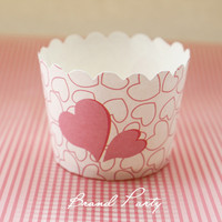 Pink Cupcake Baking Mold Paper Mini Cupcake Wrapper Muffin Cases Cupcake Liners Baking Cups