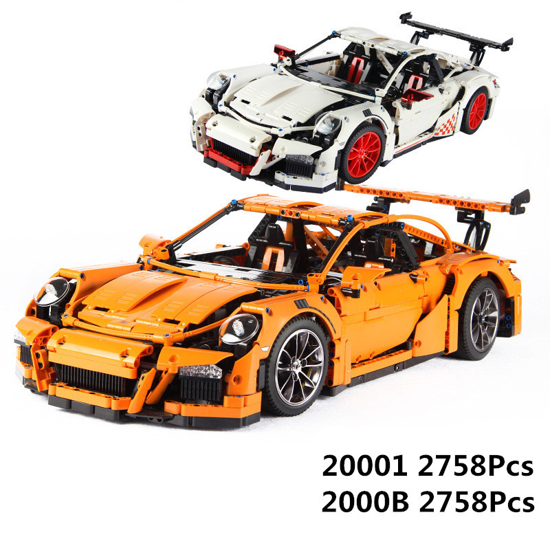 LEPIN 20001 20001B Technic Series Race Car Model Compatible 42056 Building Kits Blocks Bricks Boys Gifts Educational DIY Toys