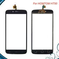 5 5 Inch For HOMTOM HT50 HT 50 Touch Screen Glass 100 New Glass Panel Black