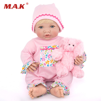 35CM Baby Reborn Dolls Realistic BeBe Reborn Soft Silicone Dolls For Girls Lifelike Baby Doll Toy