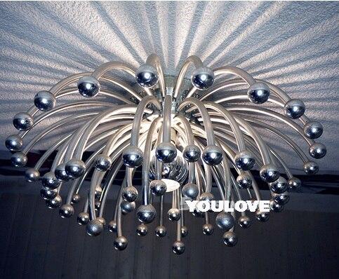 Moderne Spoutnik Pistillo Plafonniers Luminaire Fleurs Accueil