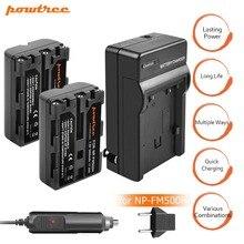 купить 2Packs NP-FM500H Li-ion Camera Battery 7.2V 2400mAh+Battery Charger+Car charger For SONY A300 A350 A900 A700K A200,L20 дешево