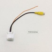 Автомобильный RCA в 16 Pin Интерфейс Кабель-адаптер для hyundai Elantra/Avante/Santa Fe/камера заднего вида видео вход Разъем