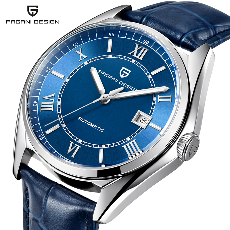 все цены на PAGANI DESIGN Luxury Brand Watches Mens Waterproof Business Automatic Mechanical Wrist Watch Clock Men Relogio Masculino Saat