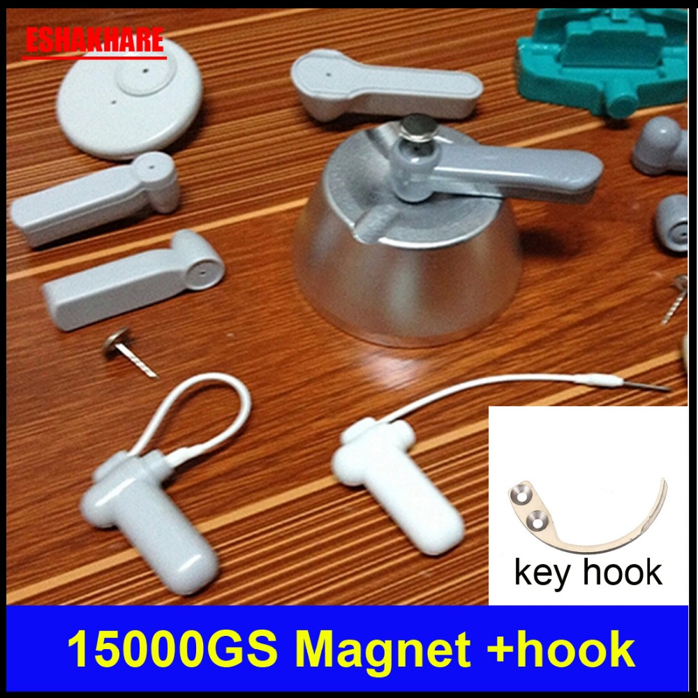 Original Magnet 15000GS Universal Sensor Tag Detacher For Eas System Key Detacher Mini Handheld Eas Security Tag Remover