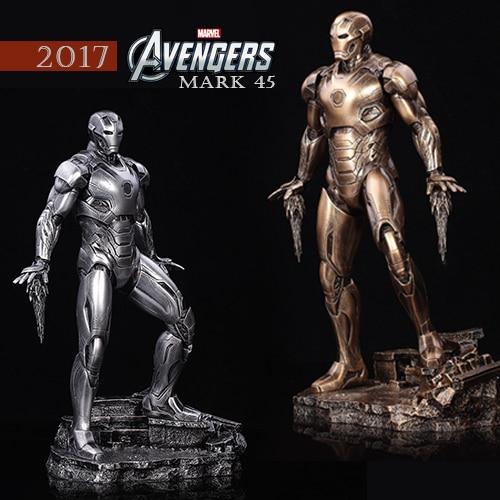 33cm Avengers 2: Alltronic Era Iron Mark45 GK Creative Toy Figures Statue Ornaments Gifts MK45