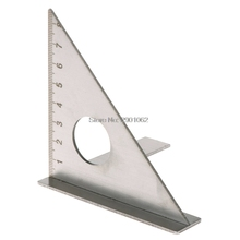 Woodworking Ruler Square Layout Miter Triangle Rafter 45 90 degree Metric Gauge AP16