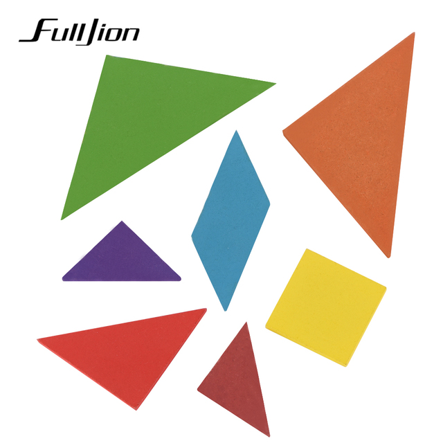 Fulljion Puzzle Wooden Toys For Children Learning Education 3d Puzzle Jigsaw Teaser Brain Math Montessori Toy Teaching Resources