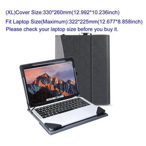 Image 5 - 13 13.3 14 inch Laptop Bag Case Adjustable Stand Universal Laptop Cover for Lenovo  HP ASUS Acer DELL Huawei Xiaomi Notebook