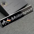 Car Styling Accesorios Divisa Del Emblema de Decal Sticker Racing Motorsport Alemania Deutschland para Volkswagen VW AUDI BMW BENZ LATIDO