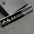 Car Styling Accessories Emblem Badge Decal Sticker Racing Motorsport Germany Deutschland for Volkswagen VW BENZ AUDI BMW BEAT