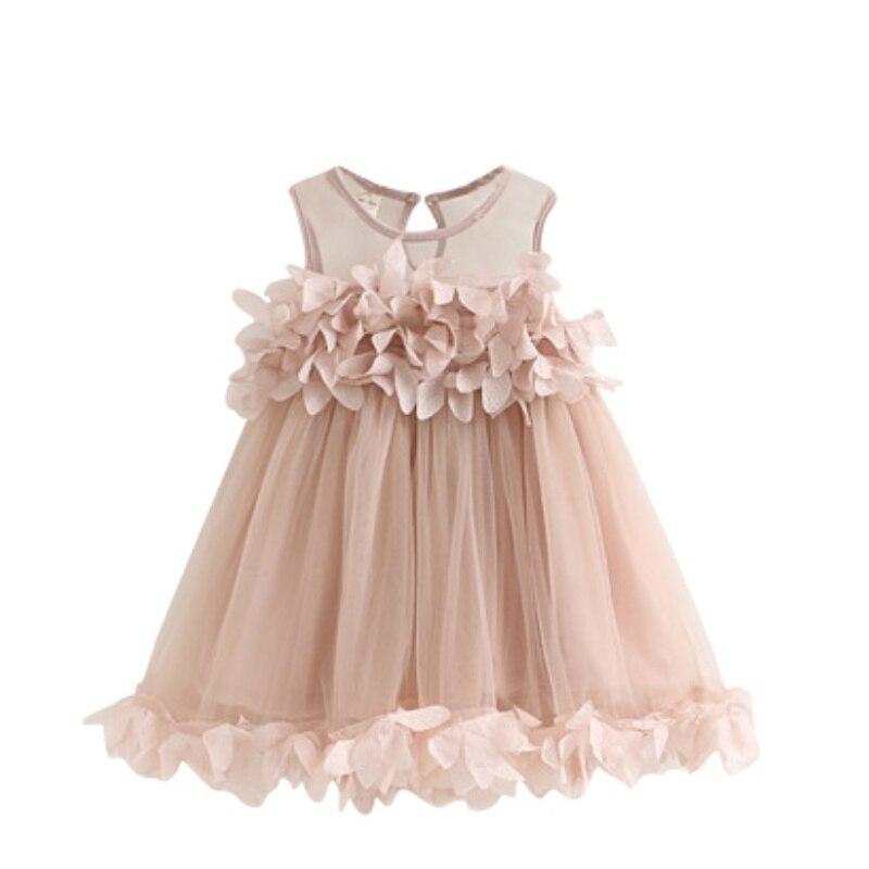 Vestido para niñas Ropa de niña Vestido de flores Bebé Niños - Ropa de ninos