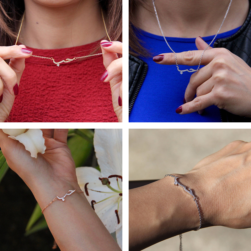 Dubai jewelry Sets Crystal Arabic Necklaces & Bracelets Rose Gold Bridesmaid Gifts African Beads Crystal Bridal Jewellery Bijoux