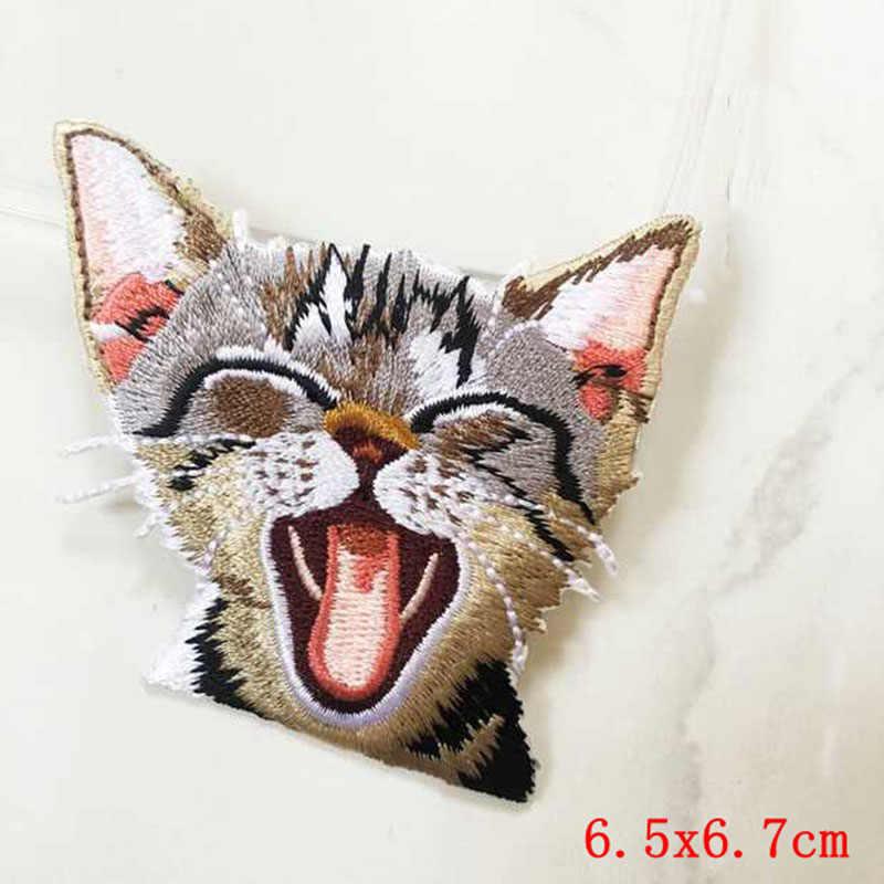 Prajna Einhorn Eule Vogel Anime Nette Katze Patch Bügeln Aufkleber Patch Eisen Auf Günstige Gestickte Patches Für Kinder Kleidung Appliques