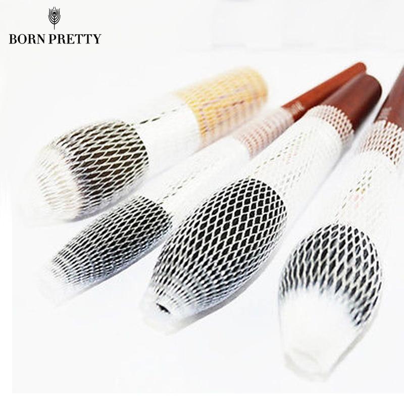 100cm Creative font b Slim b font DIY Mesh Bag For Cosmetic Makeup Brush 12290