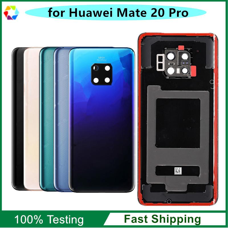 OEM Replacement Back Cover Glass for Huawei Mate 20 Pro Battery Door - Black / Twilight / Midnight  / Emerald / Cherry GoldOEM Replacement Back Cover Glass for Huawei Mate 20 Pro Battery Door - Black / Twilight / Midnight  / Emerald / Cherry Gold