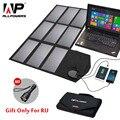 ALLPOWERS Solar Panel 60 W 5 V 12 V 18 V Folding Tragbare Solar Batterie Ladegerät Solarzelle für iphone smartphone 12 v Auto Batterie