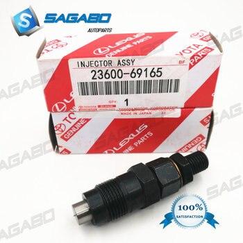 Diesel Baru Fuel Injector Nozzle 23600-69165 untuk Toyota Hilux 4 Runner Tanah Crueser 90 Prado 1KZ