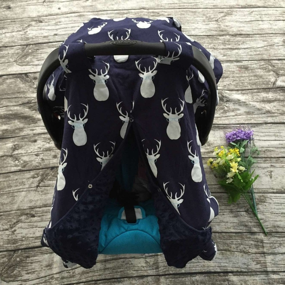 cotton new free shipping baby Car Seat Canopy cover infant children animal deer