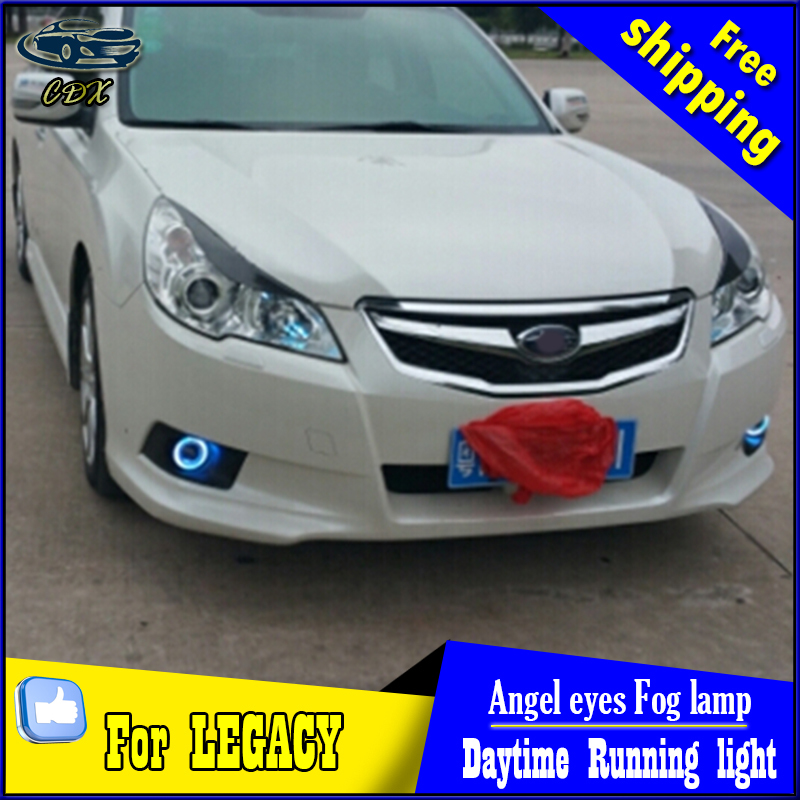 CDX car styling angel eyes fog light  for Legacy 2010-2012 year LED fog lamp LED Angel eyes LED fog lamp Accessories cdx car styling angel eyes fog light for toyota verso 2011 2014 led fog lamp led angel eyes led fog lamp accessories