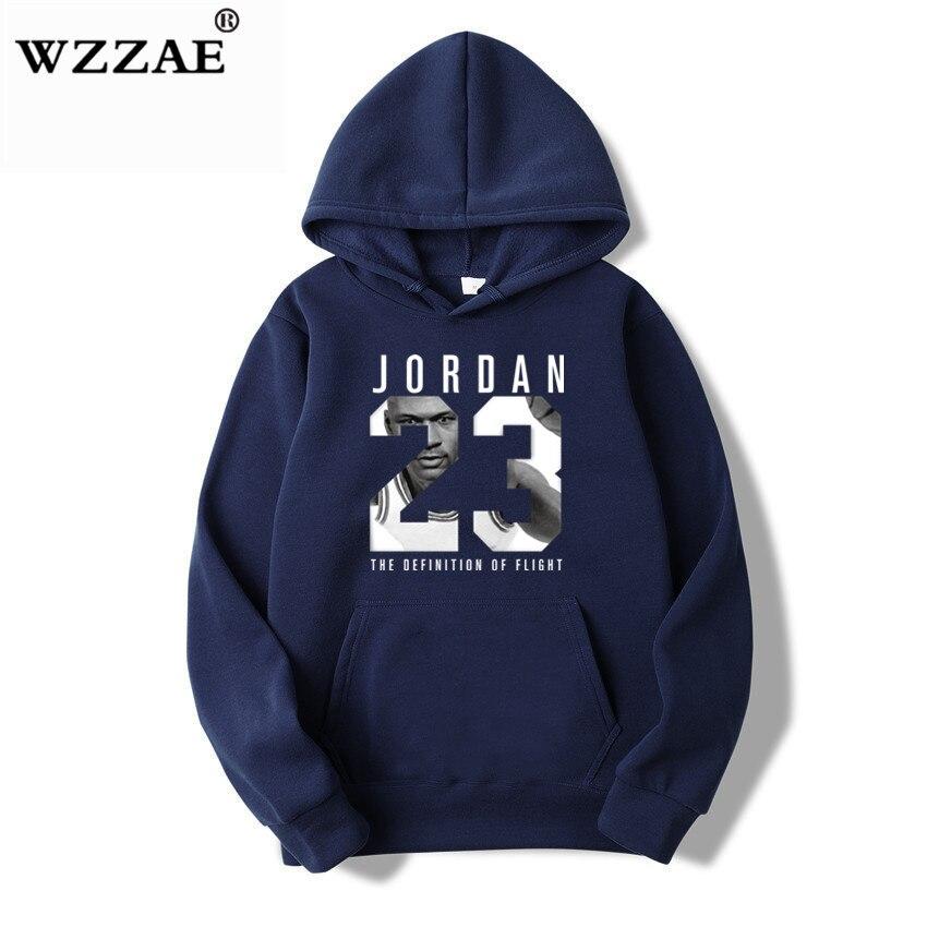 WZZAE 2019 Brand  New Fashion JORDA 23 Men Sportswear Print Men Hoodies Pullover Hip Hop Mens tracksuit Sweatshirts Clothing 5