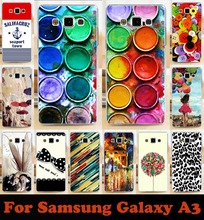 Soft Phone Cases For Samsung Galaxy A3 2014 SM A300FU A300 A3000 A3009 A300F Cases Colorful