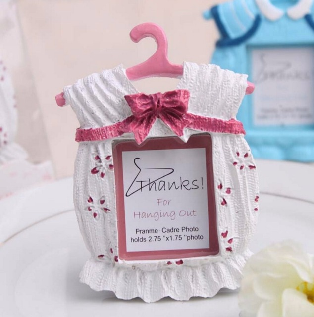 10pcs Lovely Clothes Mini Photo Frame For Wedding Baby Shower Party