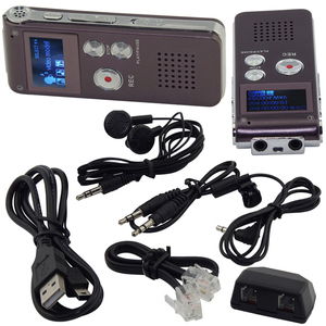 Image 5 - 8 ギガバイトボイスレコーダー USB プロ 30 時間ディクタフォンデジタルオーディオ/サウンド/音声レコーダー Wav MP3 音楽プレーヤー