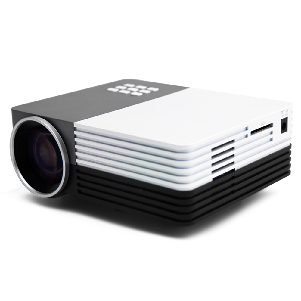 2015 Hot Selling Mini LED Projector Home Theater For Projectors Movie Support HDMI VGA AV Portable beamer Wholesale GM50