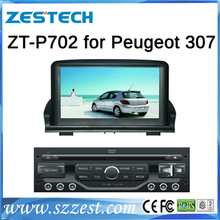 ZESTECH Factory Price For Peugeot 307 car dvd player gps Navigation Bluetooth,ipod,TV,Radio,Multi-language,USB/SD