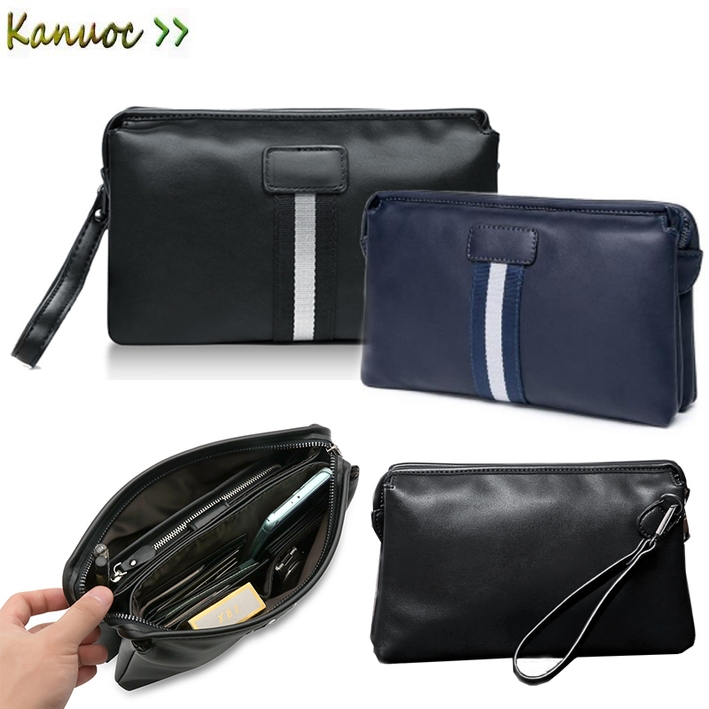 8b2482ace7ce Leather Man Wallet Car Driver License Bag handbag Men Clutch Bag For BMW  E46 E90 E39 F10 F30 Audi A3 A4 A5 hyundai renault ford-in Nets from  Automobiles ...