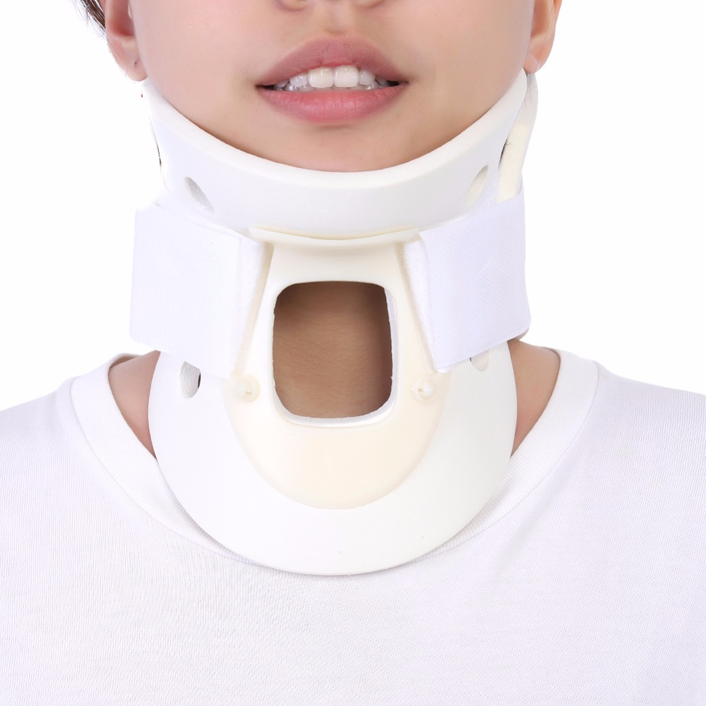 Breathable Neck Brace Cervical Collar Neck Support Pain Relief Neck Orthosis Braces Medical Cervical Traction Collar Immobilizer(China)