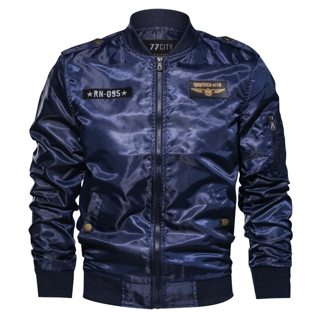d93406848 New 2018 Autumn Winter Military tactical Pilot Jacket Men Cotton Bomber  Jacket Plus Size 6XL Casual Air Force Flight Jacket Coat