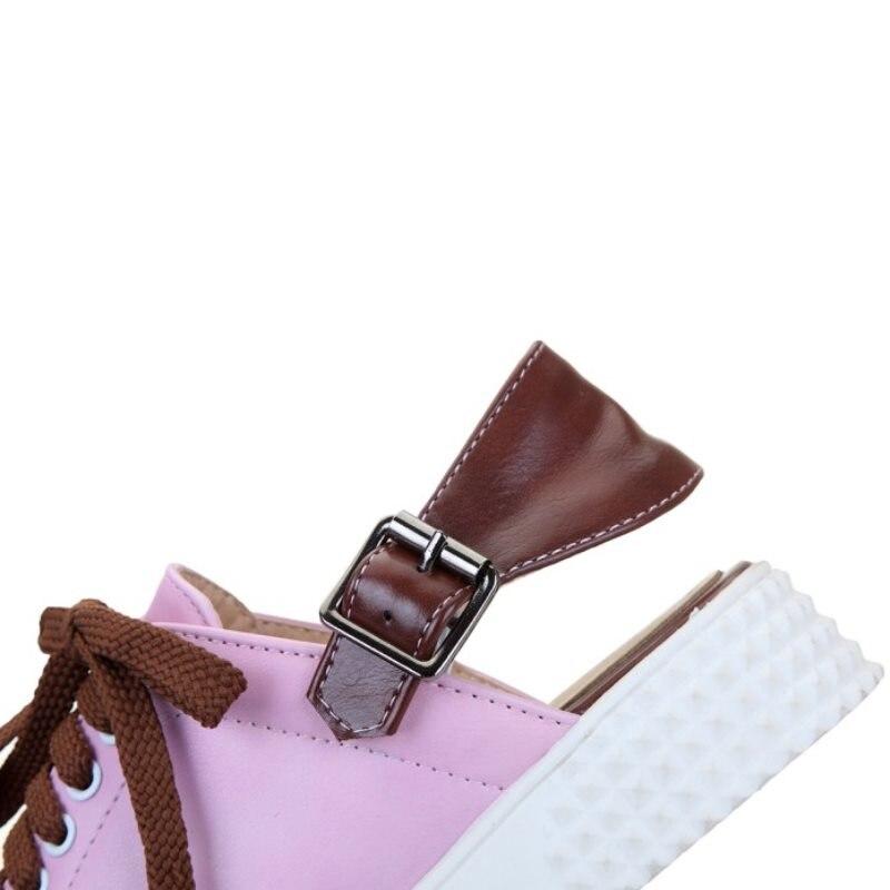 camo Casuales Calzado 34 Rosado De Zapatillas Correa Taoffen Planos Blanco 42 Simple blanco Cruz Zapatos Tamaño Deporte Mujer Moda Hx1RUw