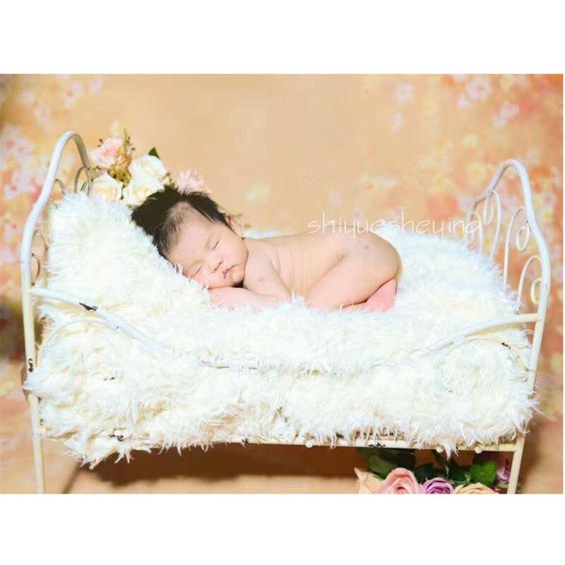 Studio nouveau-né photographie accessoires accessoires fer amovible Prop lit bébé photographie décors Prop Fotografia Recien Nacido
