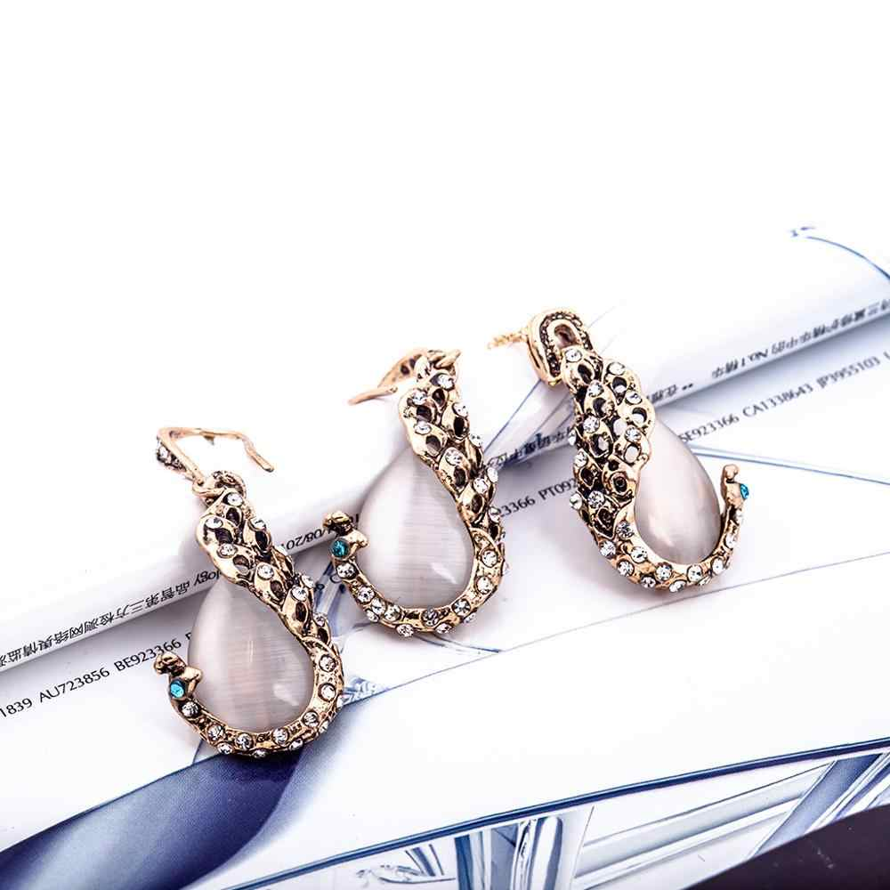 Necklace and Earring Set Imitation Pearl Jewerly Sets for Women sieraden Sets parure femme African Necklace Earrings Sets