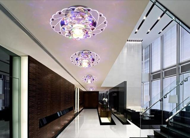 modern spot lighting. 3W Modern Led Ceiling Lamp Lights For Home Living Room Light Crystal Spot Lighting AC200- G