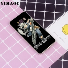Manga Anime Black Clover Soft TPU Silicone Case for Galaxy Note edge