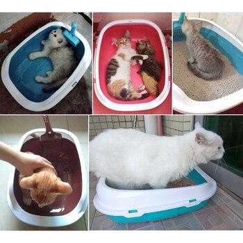 Semi-open Cat Toilet + Scoop 4