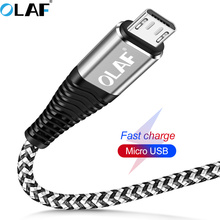 Olaf 1M 2M Micro USB Cable Fast ChargE USB Data Cable for Sa
