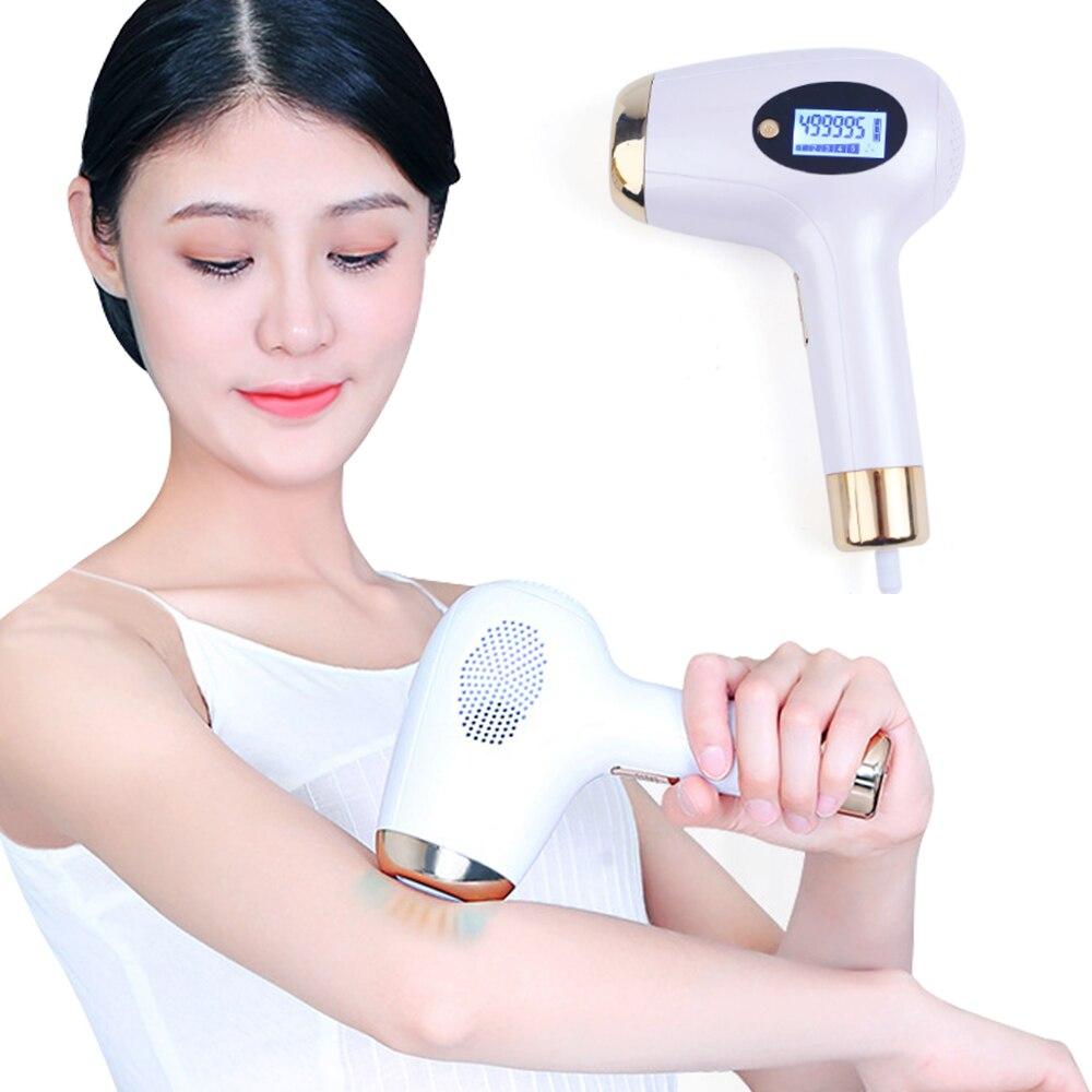 IPL Laser Epilator Hair Removal Machine Whole Body Hair Removal Instrument Mild Permanent Epilator Electric Epilator A Laser