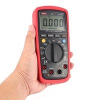 6000 Counts Digital Multimeter Voltmeter with Auto Range True RMS DC/AC Voltage LoZ Temperature Capacitance VFC UT139C