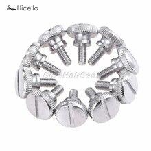 10 шт. прижимная лапка для швейной машины, винты для большого пальца, Зажимная пластина, винт для швейной машины Hicello